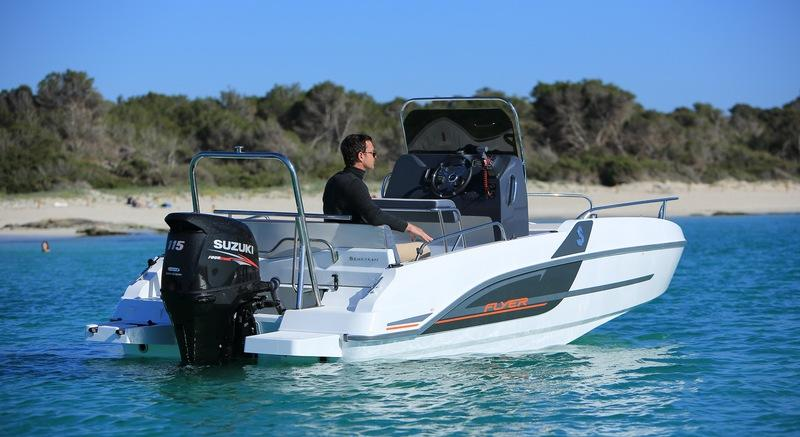 2018 Beneteau Flyer 5.5 SPACEdeck
