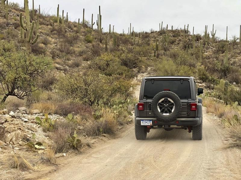 Driving the 2018 Jeep Wrangler JL