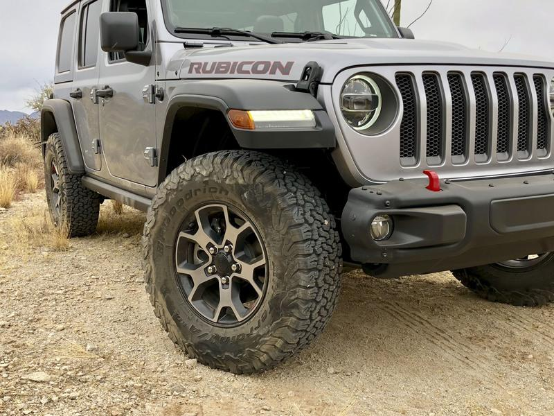 What Separates the Rubicon from the Wrangler's Other Trims Exterior - image 751435