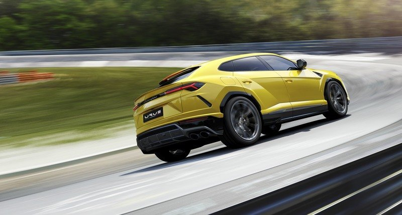 Lamborghini Seeks to Enter the Urus in an
