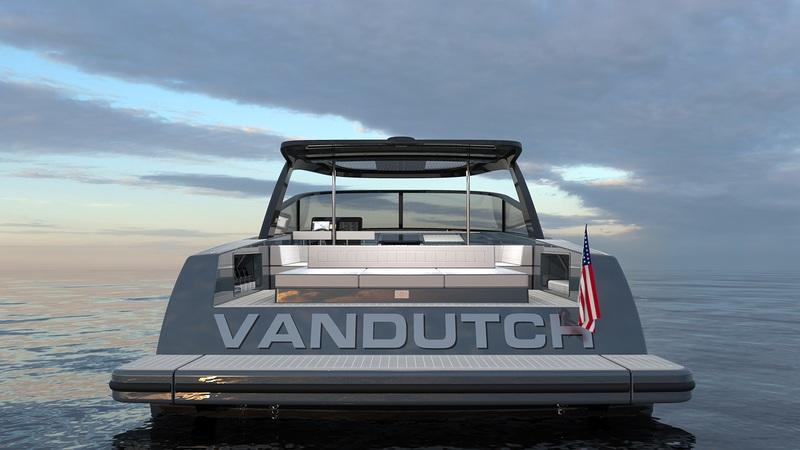 2018 VanDutch 56T Exterior Computer Renderings and Photoshop - image 752766