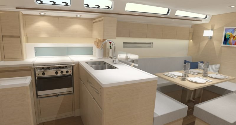2018 X-Yachts X4⁹ Interior Computer Renderings and Photoshop - image 752574