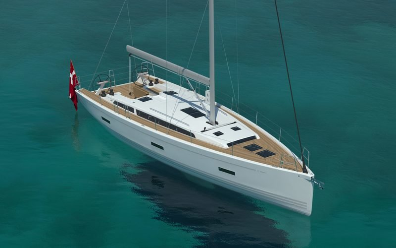 2018 X-Yachts X4⁹ Exterior Computer Renderings and Photoshop - image 752566