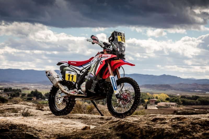 Team Monster Energy Honda's Dakar bike stolen