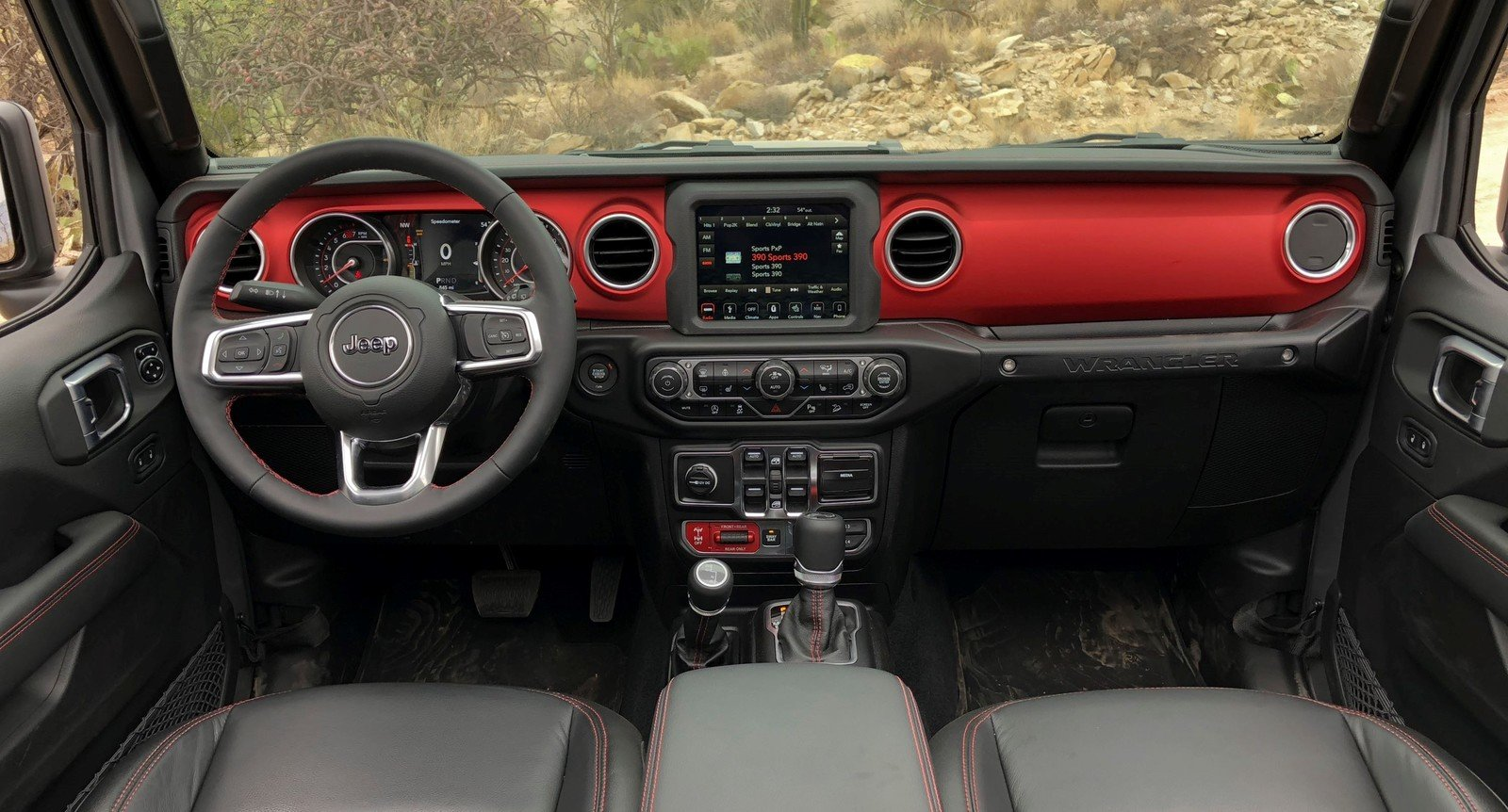 Grand Wagoneer 2018 >> A Detailed Look At The 2018 Jeep Wrangler's Dashboard Pictures, Photos, Wallpapers. | Top Speed