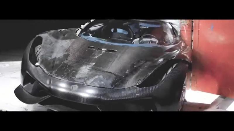 Amazing Video – Crash Testing A Koenigsegg Regera