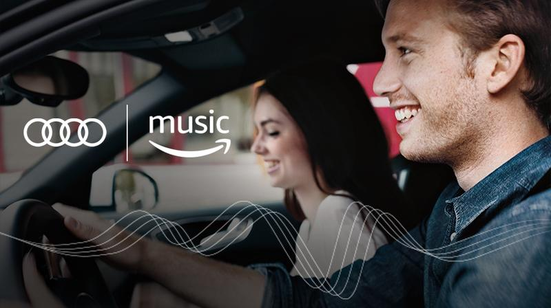 Audi Introduces Amazon Music Services On All 2017 and 2018 Models