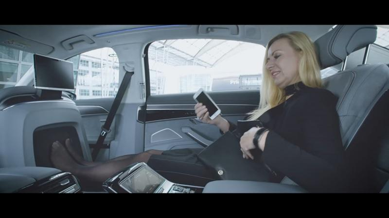 Audi's New Foot Massage Feature is an A8L Exclusive