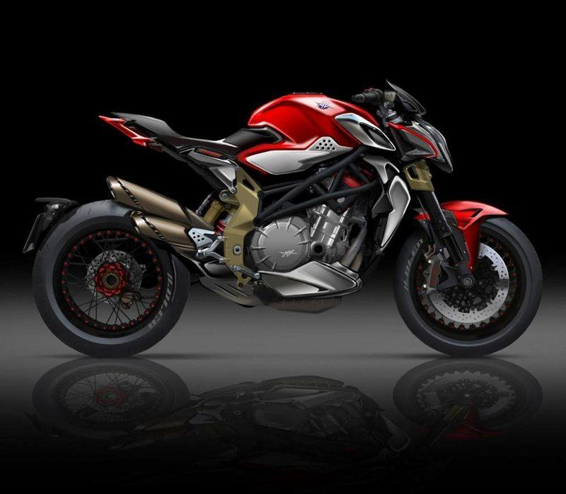 After working the three cylinders magic, MV Agusta moves to four in 2018