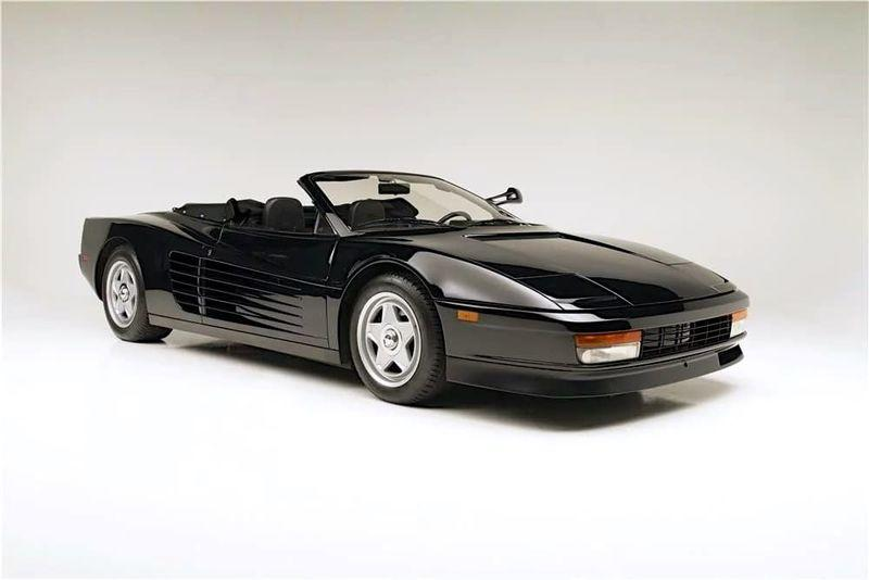 Custom-Built Ferrari Testarossa Convertible Has A History With The King of Pop