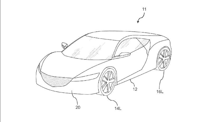 Do New Patent Images Reveal Forthcoming Honda NSX Type R?