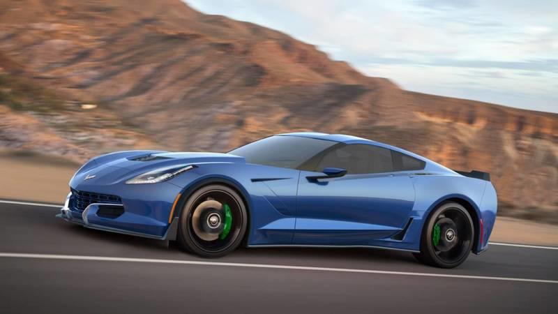 Genovation GXE, the Electric Corvette, Gets More Power for its Pre-Production Debut at CES