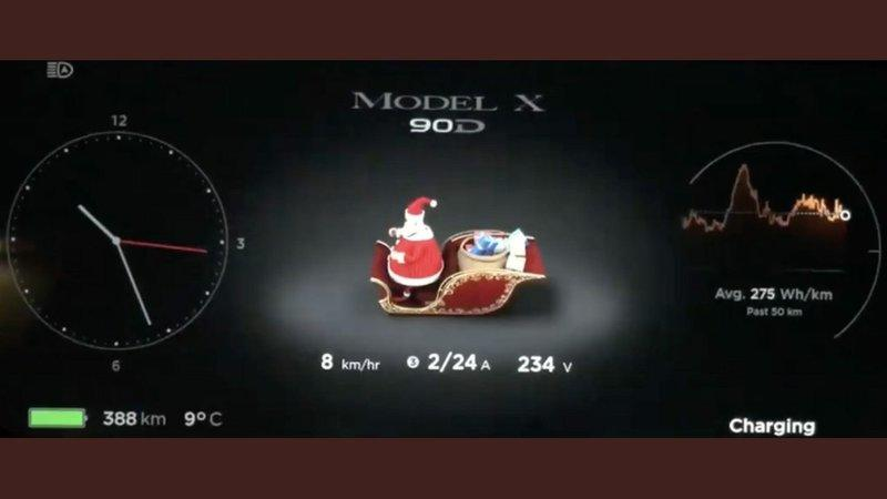 Elon Musk Delivers Easter Eggs for Christmas with Latest Tesla Software Update