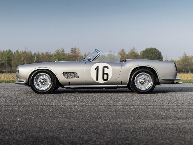 Ferrari 250 GT California Spider Sold for $17.99 Million at Auction