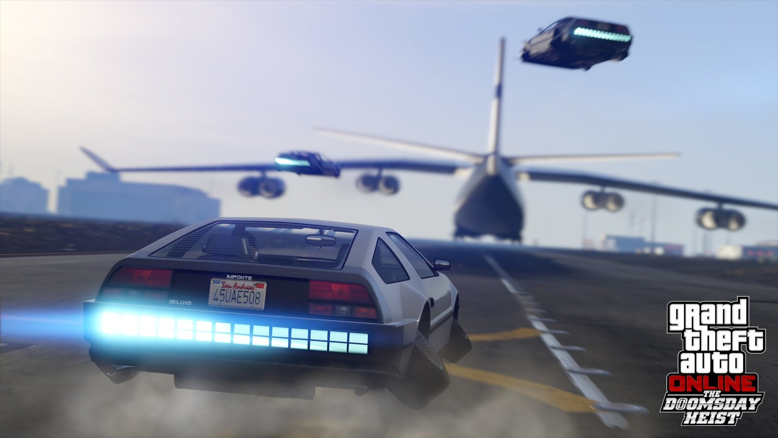 Grand Theft Auto Online Now Has A Flying DeLorean Lookalike