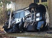 His Angel Was Riding Shotgun: Chevy Corvette Z06 Crashes into a House - image 751697
