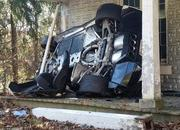 His Angel Was Riding Shotgun: Chevy Corvette Z06 Crashes into a House - image 751698