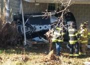 His Angel Was Riding Shotgun: Chevy Corvette Z06 Crashes into a House - image 751699