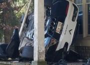 His Angel Was Riding Shotgun: Chevy Corvette Z06 Crashes into a House - image 751701