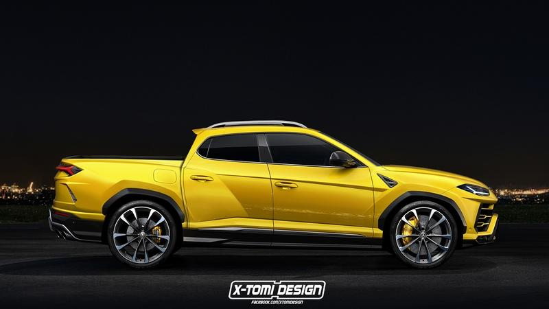 A Lamborghini Urus Pickup Truck? Yes Please!
