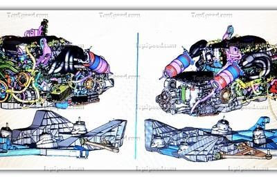 Leaked CAD Images Show Off Parts of the Mid-Engined Corvette - image 753114