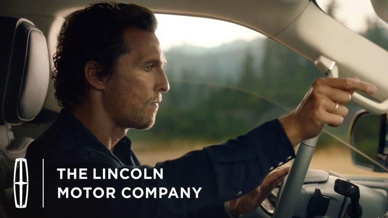 2018 Lincoln Navigator Ad Has a Silent Matthew McConaughey and a Hidden Message