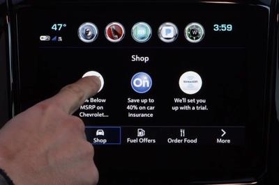 Lord Help Us: GM Introduces In-Car Marketplace - image 750895