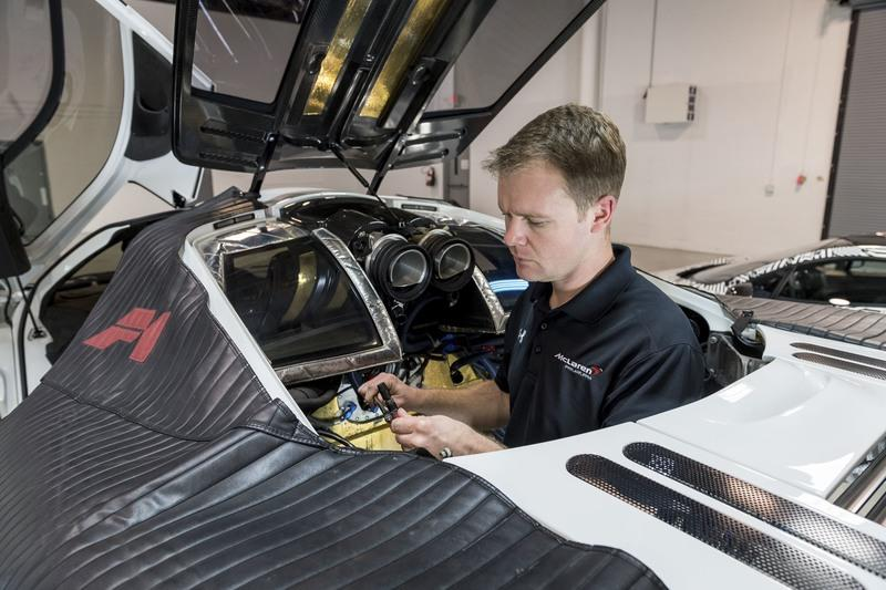 McLaren Finally Opens Dedicated Service Center for the F1 Supercar