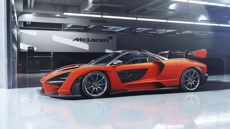 A McLaren Senna Just Sold at Auction for $2.67-million