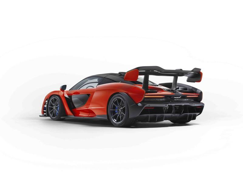 A McLaren Senna Just Sold at Auction for $2.67-million Exterior - image 752222