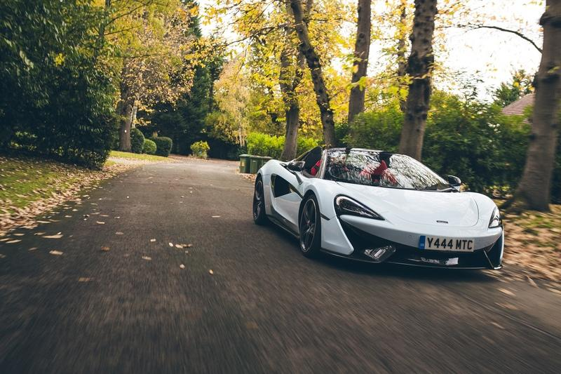 McLaren Special Operations Creates Special Paint with Family History