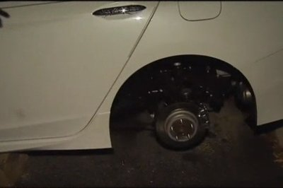 Poor Guy Has Rims Stolen from His Honda Accord Twice in One Week - image 752256