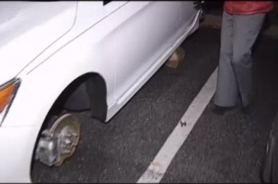 Poor Guy Has Rims Stolen from His Honda Accord Twice in One Week - image 752254