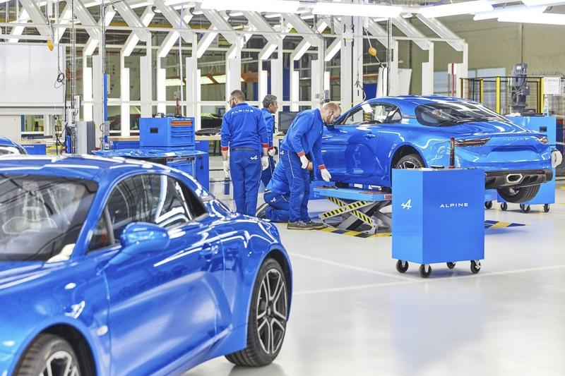 Renault Promises 6,000 Models Per Year from New Alpine Plant