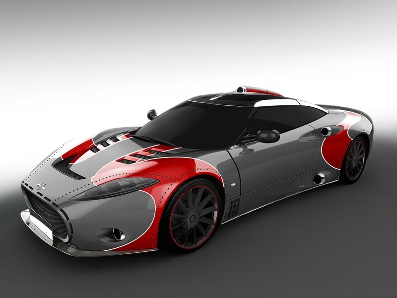 2017 Spyker C8 Aileron LM85
