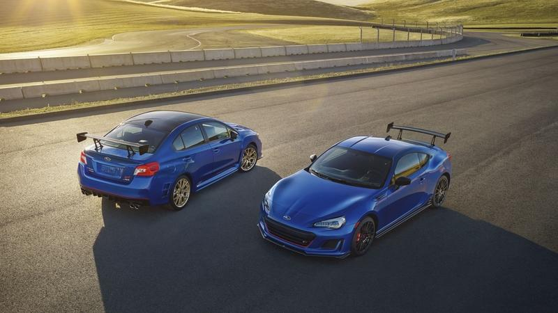 Subaru Announces Pricing for WRX STI Type RA and BRZ TS