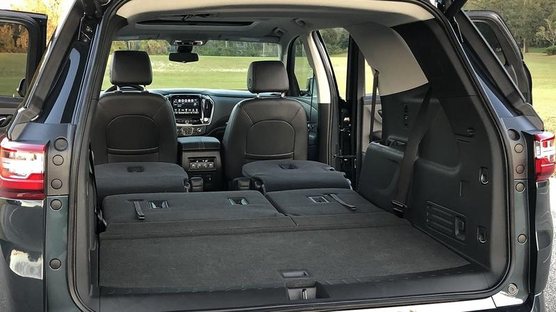 The 2018 Chevy Traverse Has Plenty of Storage Spots