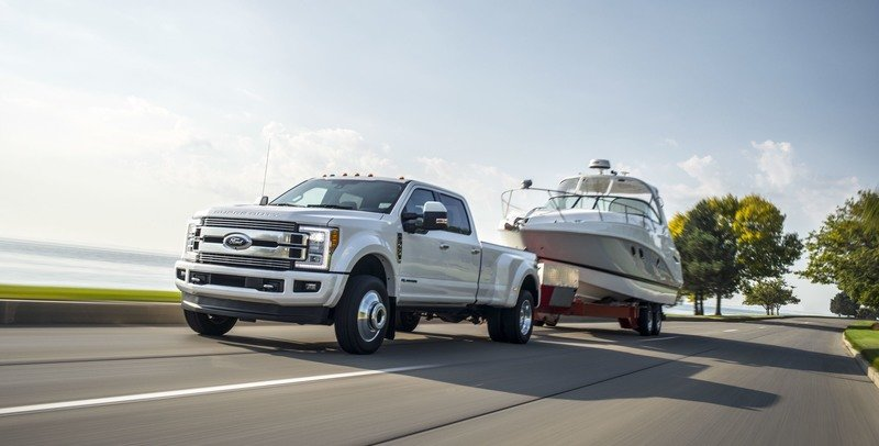 Torque Wars Continue as Ford Boosts Super Duty Power Stroke Torque to 935 Pound-Feet