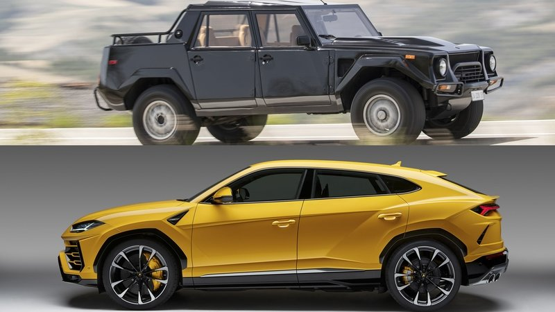 Urus vs. LM002: Lambo's Utility Vehicles - 30 Years Apart
