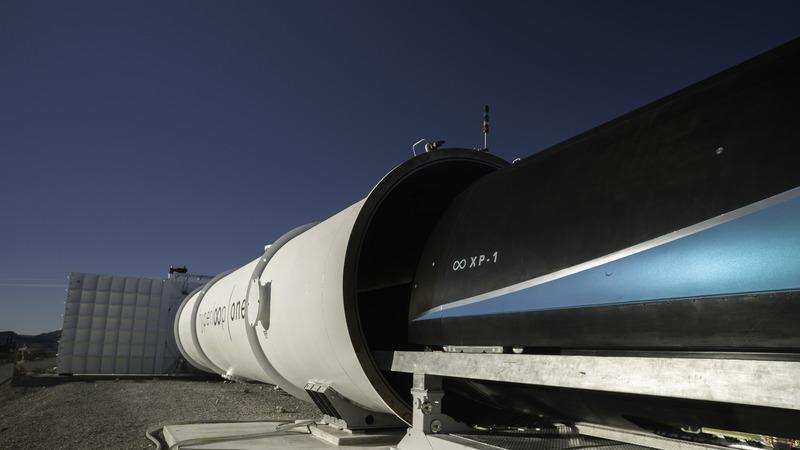 Virgin Hyperloop One Clocks Record 240 MPH In Latest Round of Testing