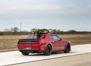 Watch Hennessey Do 174 MPH in a Hellcat Hauling A Christmas Tree! - image 754131