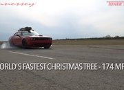 Watch Hennessey Do 174 MPH in a Hellcat Hauling A Christmas Tree! - image 754118