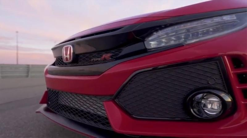 Watch How Honda Manages Air on the 2017 Civic Type R