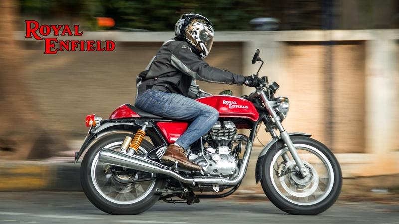 2014 - 2018 Royal Enfield Continental GT