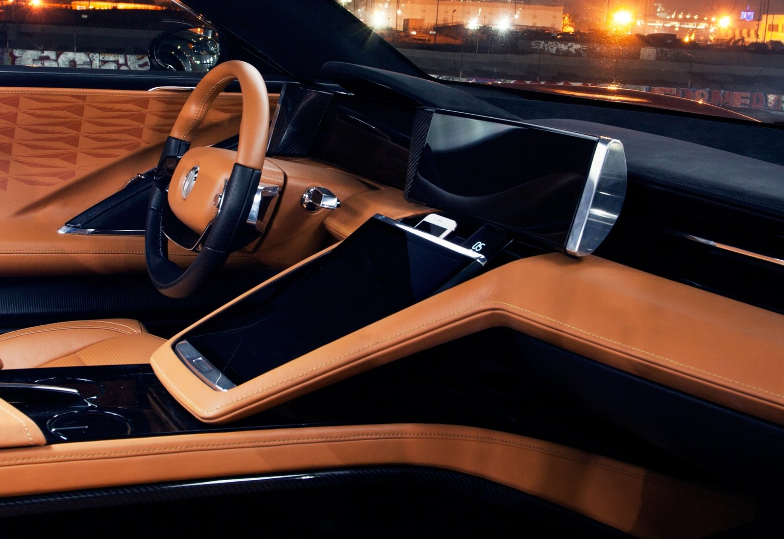 the fisker emotion has a beautiful interior news top speed. Black Bedroom Furniture Sets. Home Design Ideas