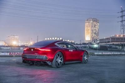 Fisker eMotion Debuts with 24-inch Wheels, 400-Mile Range, and Level 4 Autonomous Capability - image 756608