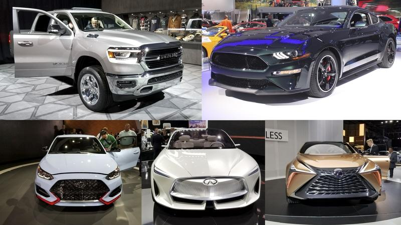 2018 Detroit Auto Show – Best In Show