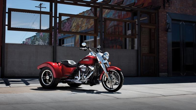 2017 - 2018 Harley-Davidson Freewheeler | Top Speed