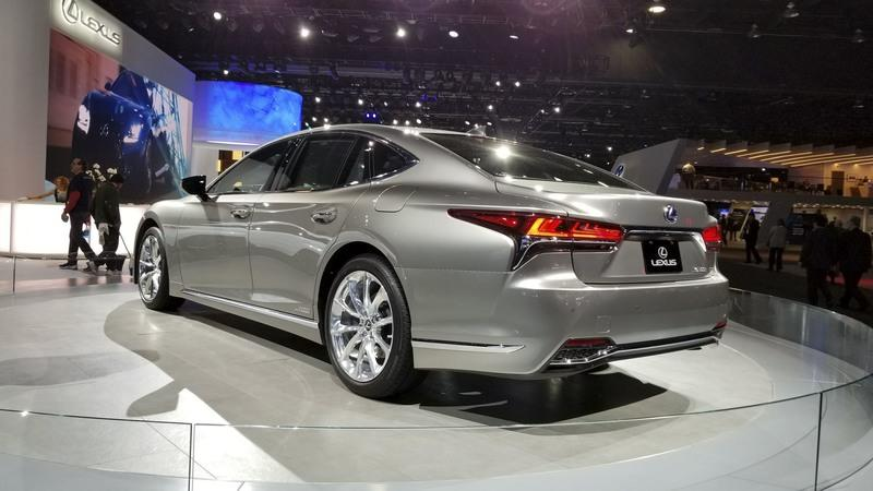 2018 Lexus LS Pricing Unveiled in Detroit: Significantly More Affordable Than Mercedes S-Class
