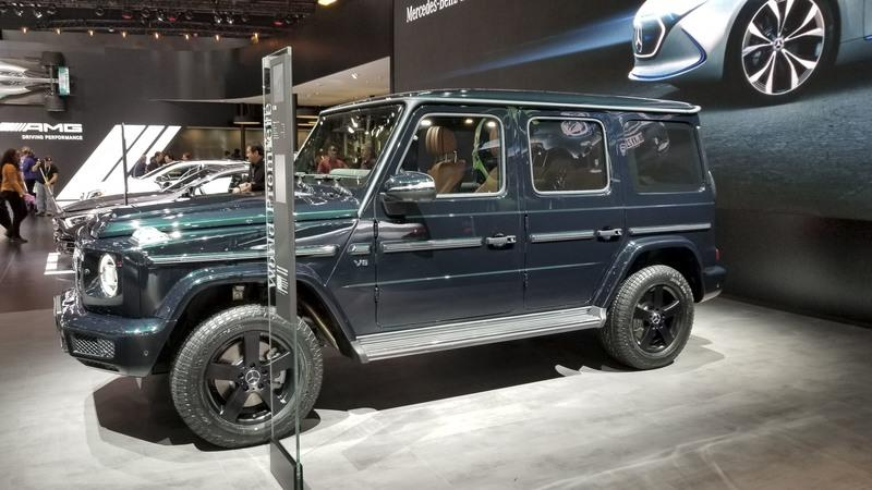 German Dealership Already Has a Sales Listing for the New Mercedes G-Class